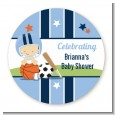 Sports Baby Caucasian - Personalized Baby Shower Table Confetti thumbnail