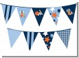 Sports Baby African American - Baby Shower Themed Pennant Set thumbnail