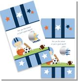 Sports Baby Caucasian - Baby Shower Scratch Off Game Tickets