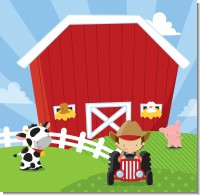 Farm Boy Birthday Party Theme