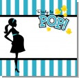 Ready To Pop Teal Baby Shower Theme thumbnail