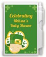 St. Patrick's Baby Shamrock - Baby Shower Personalized Notebook Favor thumbnail