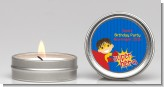 Superhero Boy - Birthday Party Candle Favors