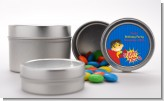 Superhero Boy - Custom Birthday Party Favor Tins