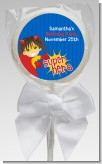 Superhero Girl - Personalized Birthday Party Lollipop Favors