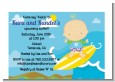 Surf Boy - Baby Shower Petite Invitations thumbnail