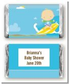 Surf Boy - Personalized Baby Shower Mini Candy Bar Wrappers