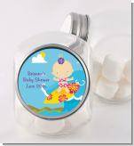 Surf Girl - Personalized Baby Shower Candy Jar