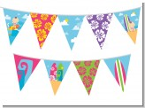 Surf Girl - Baby Shower Themed Pennant Set