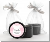 Sweet Little Lady - Baby Shower Black Candle Tin Favors