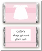 Sweet Little Lady - Personalized Baby Shower Mini Candy Bar Wrappers