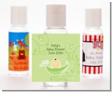 Sweet Pea Asian Boy - Personalized Baby Shower Hand Sanitizers Favors