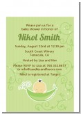 Sweet Pea Asian Boy - Baby Shower Petite Invitations