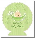Sweet Pea Caucasian Boy - Personalized Baby Shower Centerpiece Stand