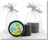 Team Safari - Baby Shower Black Candle Tin Favors