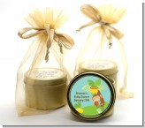 Team Safari - Baby Shower Gold Tin Candle Favors