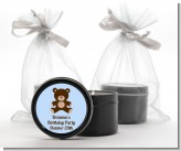 Teddy Bear - Birthday Party Black Candle Tin Favors