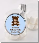 Teddy Bear - Personalized Birthday Party Candy Jar