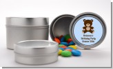 Teddy Bear - Custom Birthday Party Favor Tins