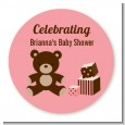Teddy Bear Pink - Personalized Baby Shower Table Confetti thumbnail