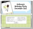 Social Media Texting - Personalized Birthday Party Candy Bar Wrappers thumbnail