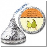 The Perfect Pair - Hershey Kiss Bridal Shower Sticker Labels