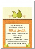 The Perfect Pair - Bridal Shower Petite Invitations