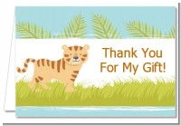 Tiger - Baby Shower Thank You Cards