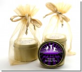 Trampoline - Birthday Party Gold Tin Candle Favors