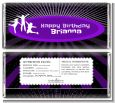 Trampoline - Personalized Birthday Party Candy Bar Wrappers thumbnail