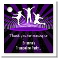Trampoline - Personalized Birthday Party Card Stock Favor Tags thumbnail