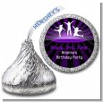 Trampoline - Hershey Kiss Birthday Party Sticker Labels thumbnail