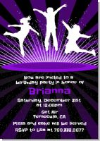 Trampoline - Birthday Party Invitations