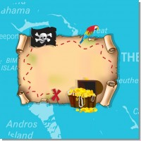 Pirate Treasure Map Birthday Party Theme