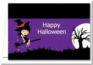 Trendy Witch - Halloween Thank You Cards
