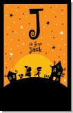 Trick or Treat - Personalized Halloween Nursery Wall Art