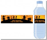 Trick or Treat - Personalized Halloween Water Bottle Labels