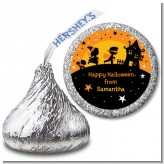 Trick or Treat - Hershey Kiss Halloween Sticker Labels