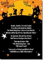 Trick or Treat - Halloween Invitations