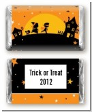 Trick or Treat - Personalized Halloween Mini Candy Bar Wrappers