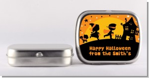 Trick or Treat - Personalized Halloween Mint Tins