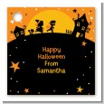 Trick or Treat - Personalized Halloween Card Stock Favor Tags thumbnail