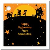 Trick or Treat - Personalized Halloween Card Stock Favor Tags