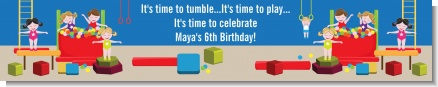 Tumble Gym - Personalized Birthday Party Banners