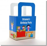 Tumble Gym - Personalized Birthday Party Favor Boxes