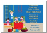 Tumble Gym - Birthday Party Petite Invitations