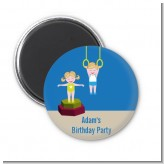 Tumble Gym - Personalized Birthday Party Magnet Favors