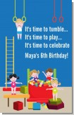Tumble Gym - Personalized Birthday Party Wall Art