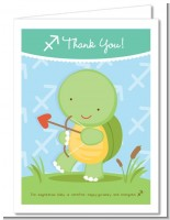 Turtle | Sagittarius Horoscope - Baby Shower Thank You Cards