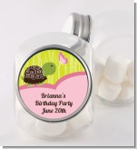 Turtle Girl - Personalized Birthday Party Candy Jar